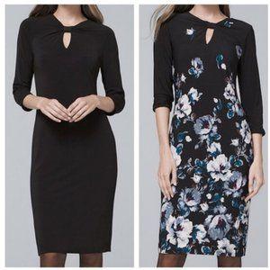 White House Black Market Reversible Floral Dress